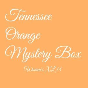 Orange Mystery Box Size 14